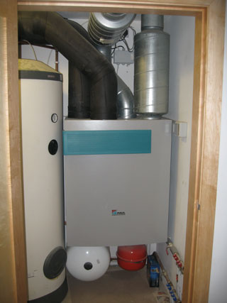 heat recovery installation