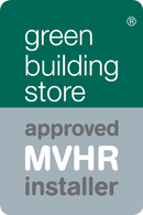We install for all the top MVHR suppliers and recommend the Green Building Store