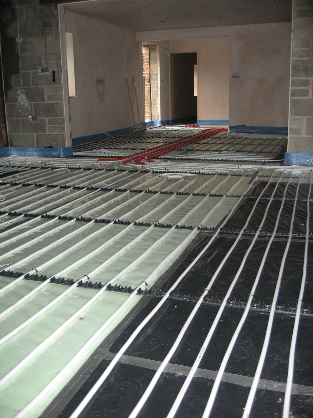 We Design Supply And Install Underfloor Heating Systems